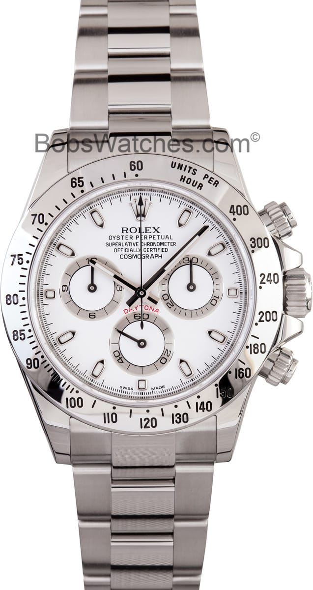 Rolex Daytona Stainless Steel Save 25 At Bob S Watches