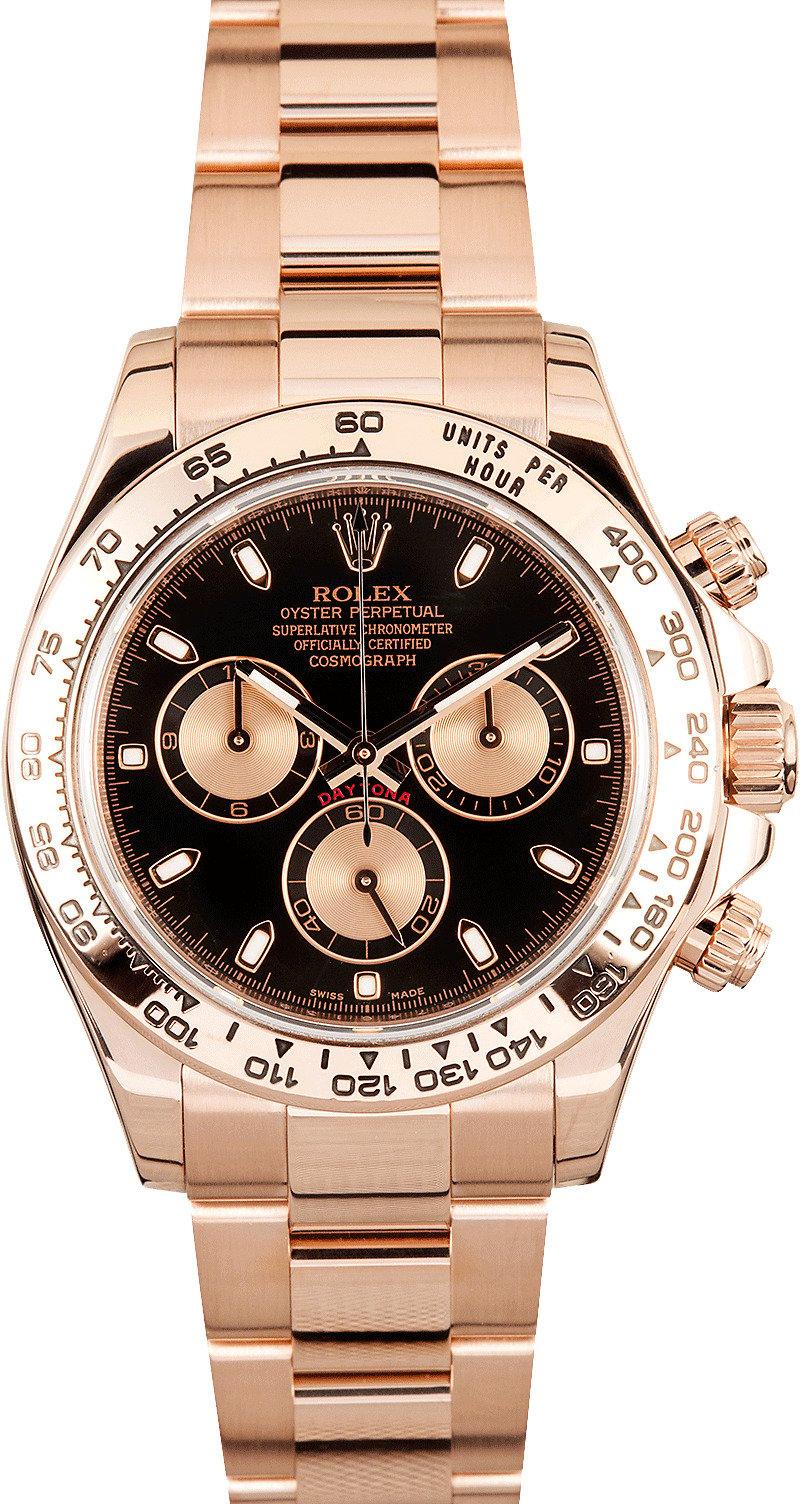 Rolex Daytona Pink Gold 116505 for Sale at $24500.00