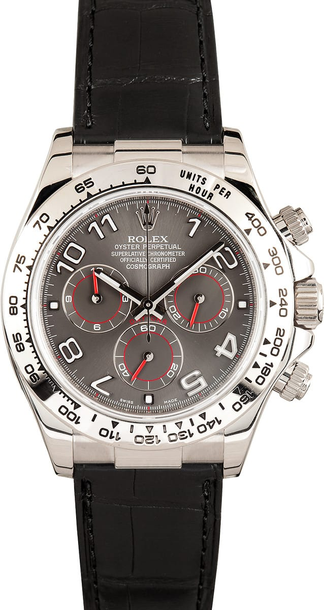 Certified Pre Owned >> Rolex Daytona 116519 - Save up to 50% at Bob's Watches
