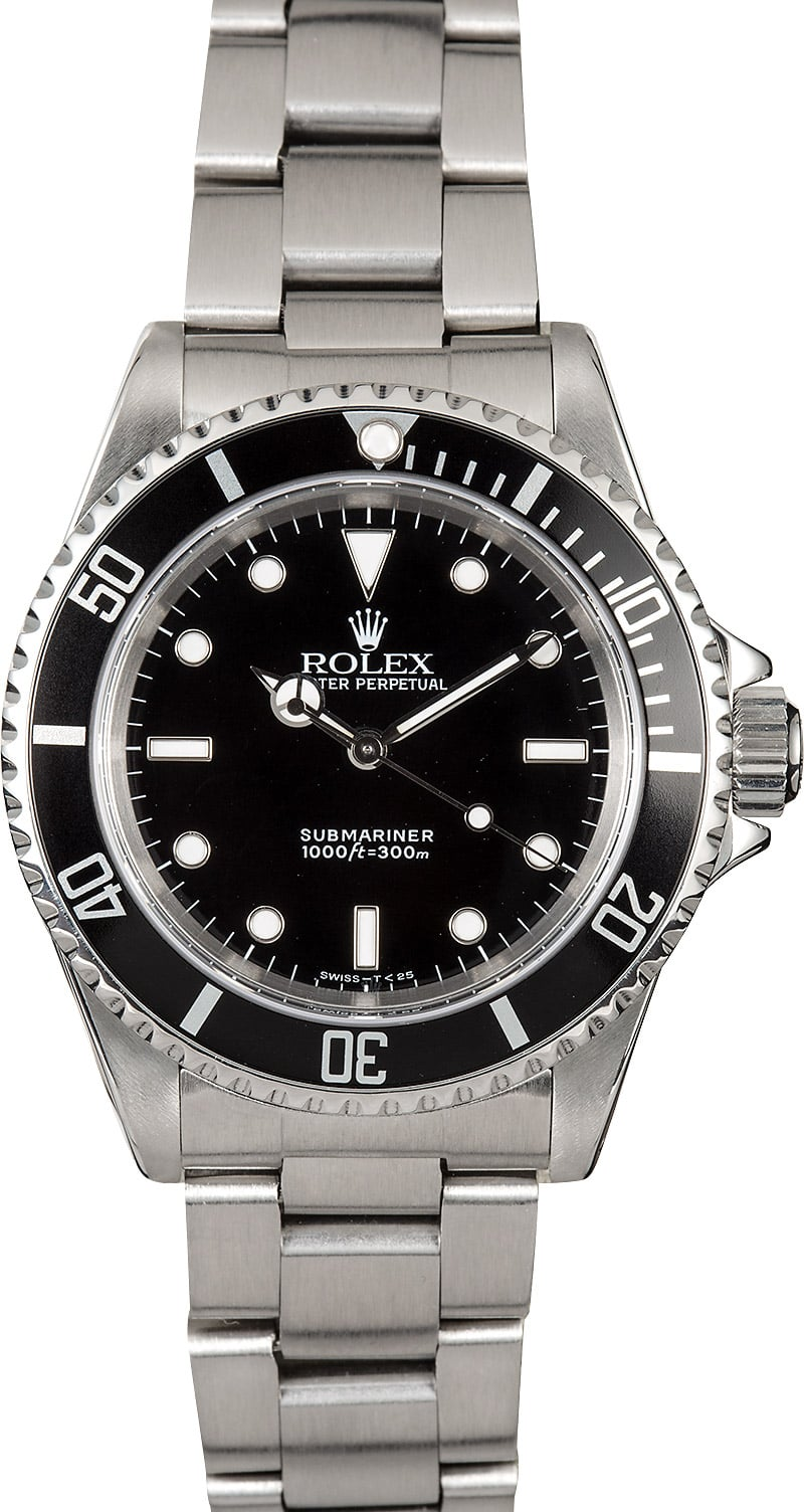 submariner rolex no date 14060 oyster. Black Bedroom Furniture Sets. Home Design Ideas
