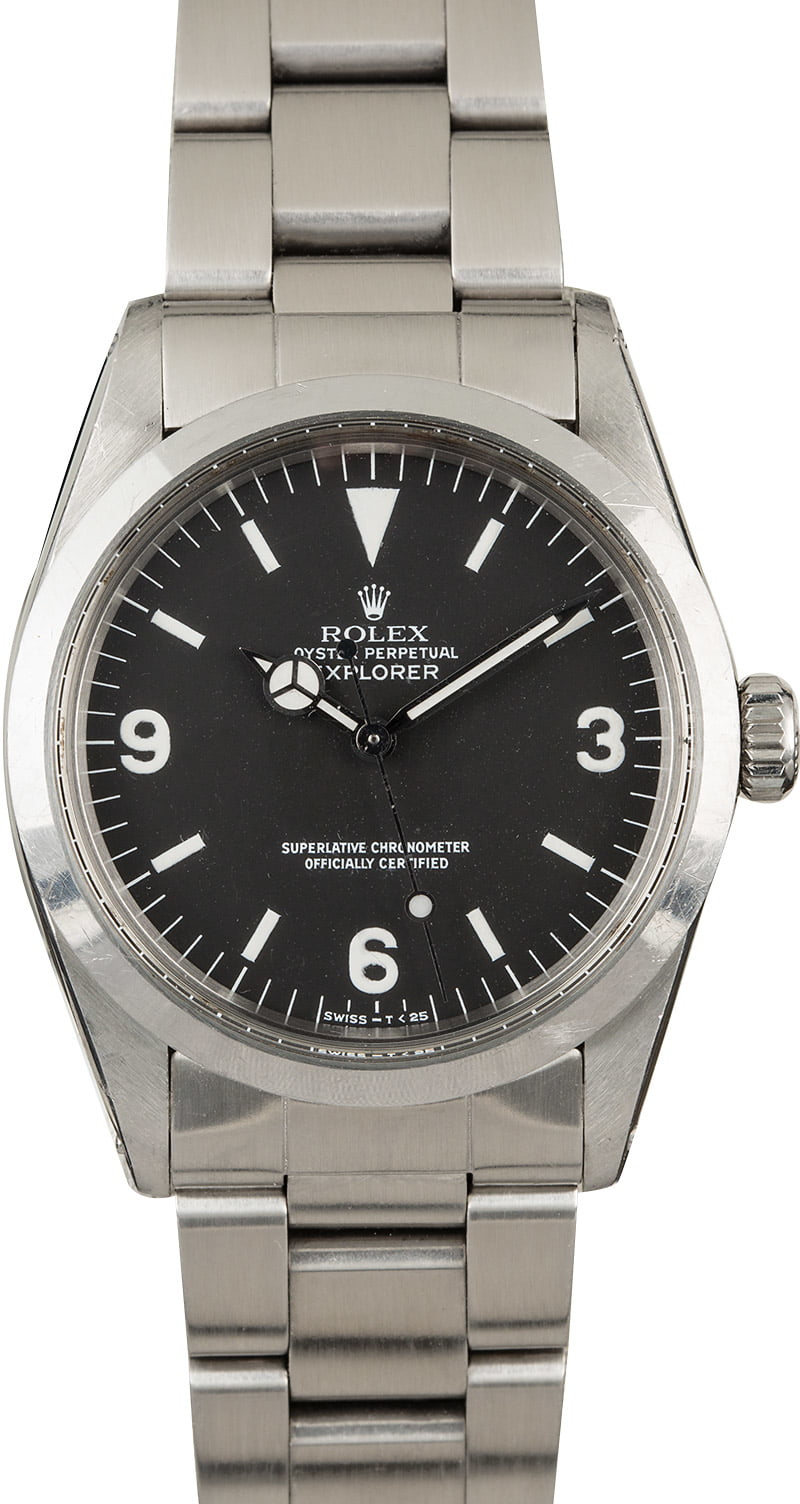 Certified Pre Owned >> Buy Vintage Rolex Explorer 1016 | Bob's Watches - Sku: 121779