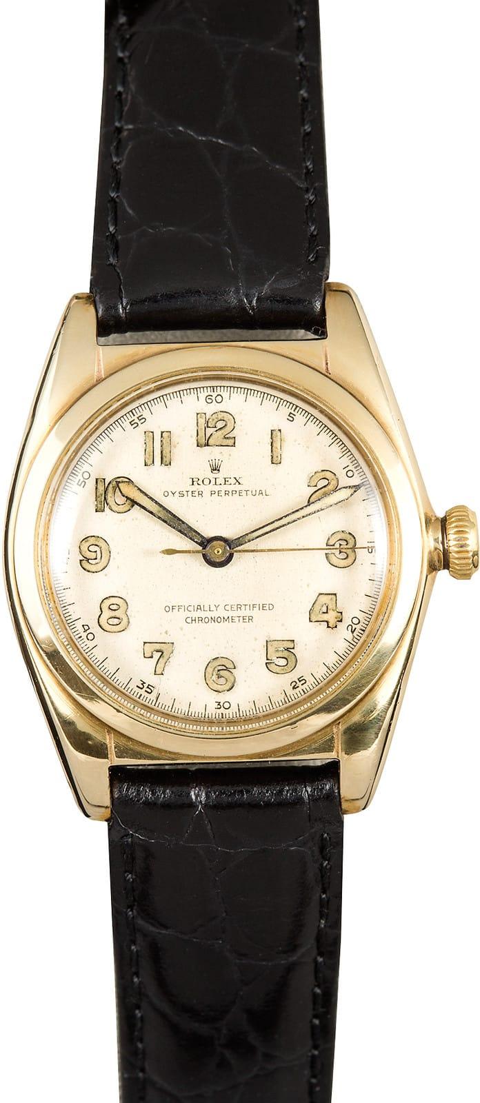 Vintage Rolex Bubbleback Brevet Crown 5050 Low Prices