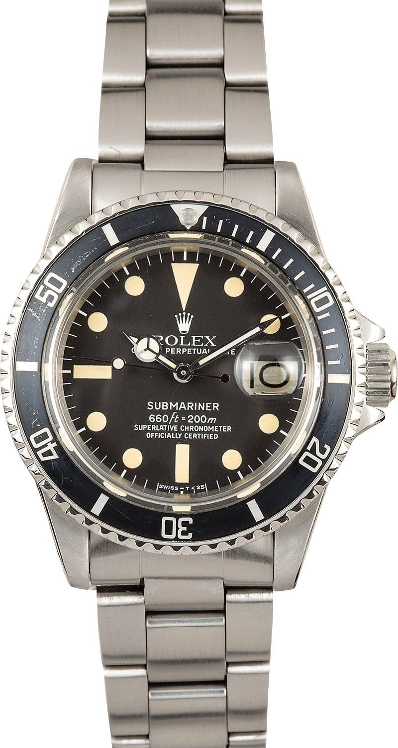 Vintage Rolex Submariner Date 1680