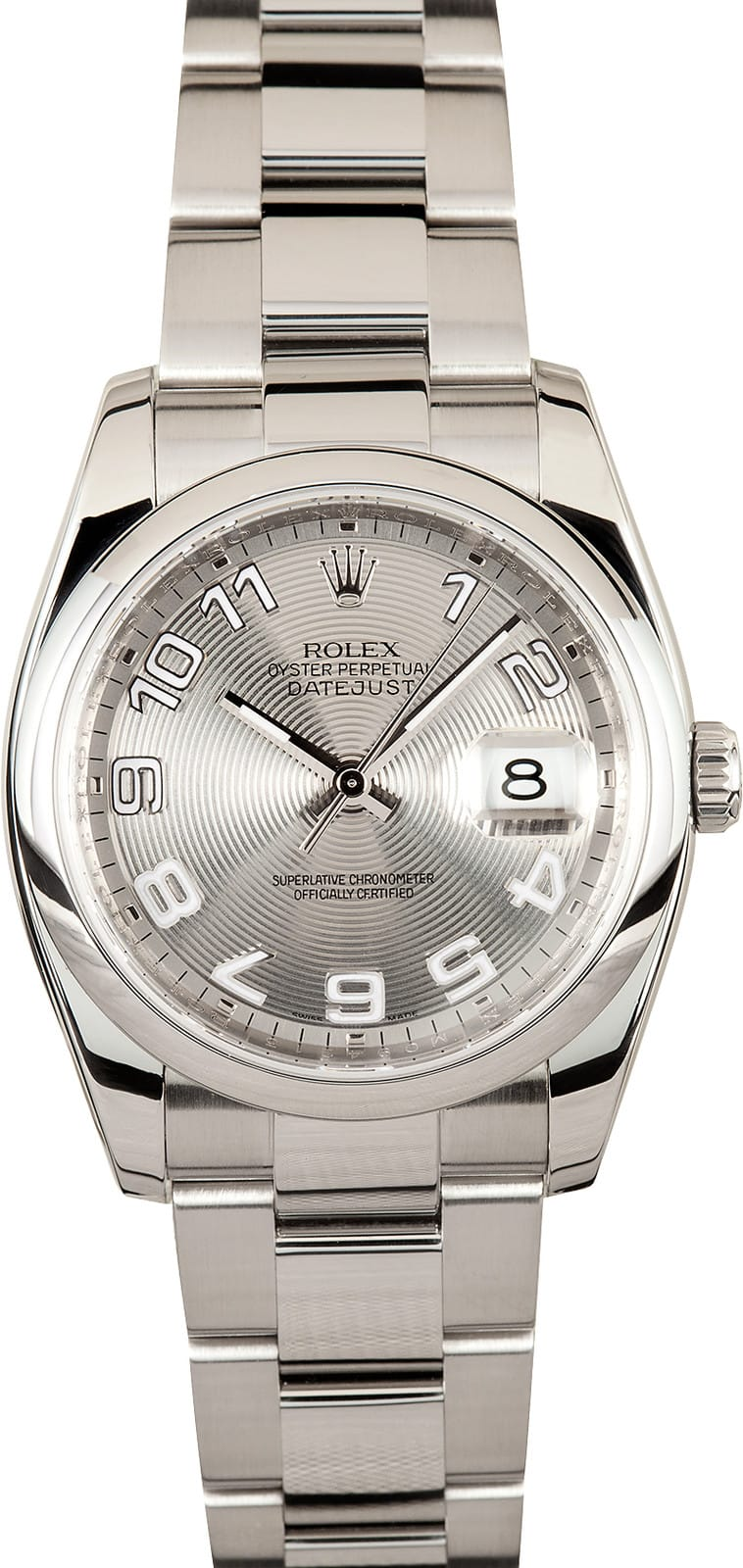 Used Men S Rolex Datejust Watch 116200 Save On Pre