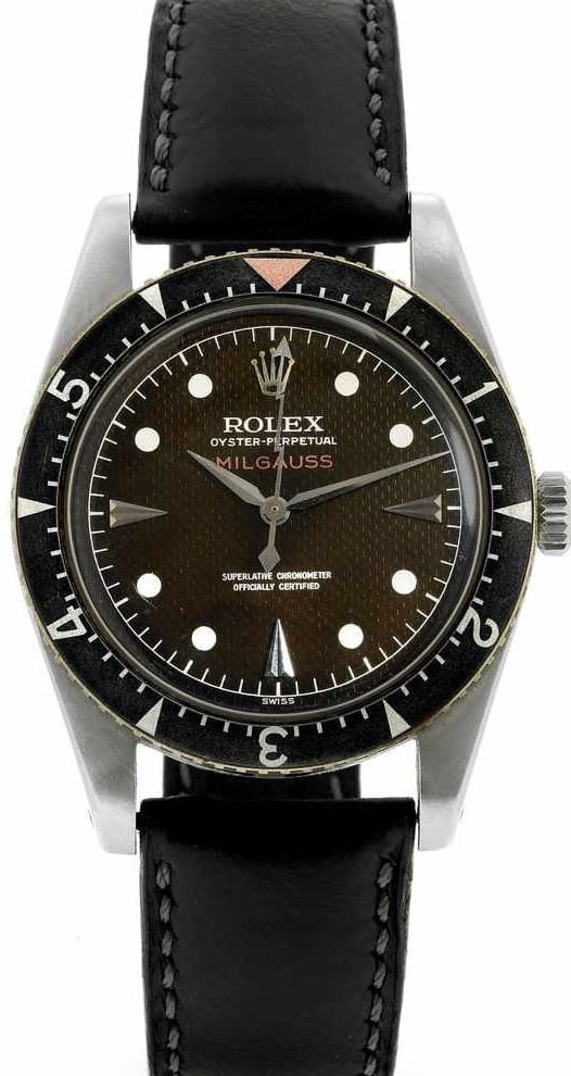 Used Rolex Submariner >> Rolex Milgauss Reference 6541 Wristwatch - Bob's Watches