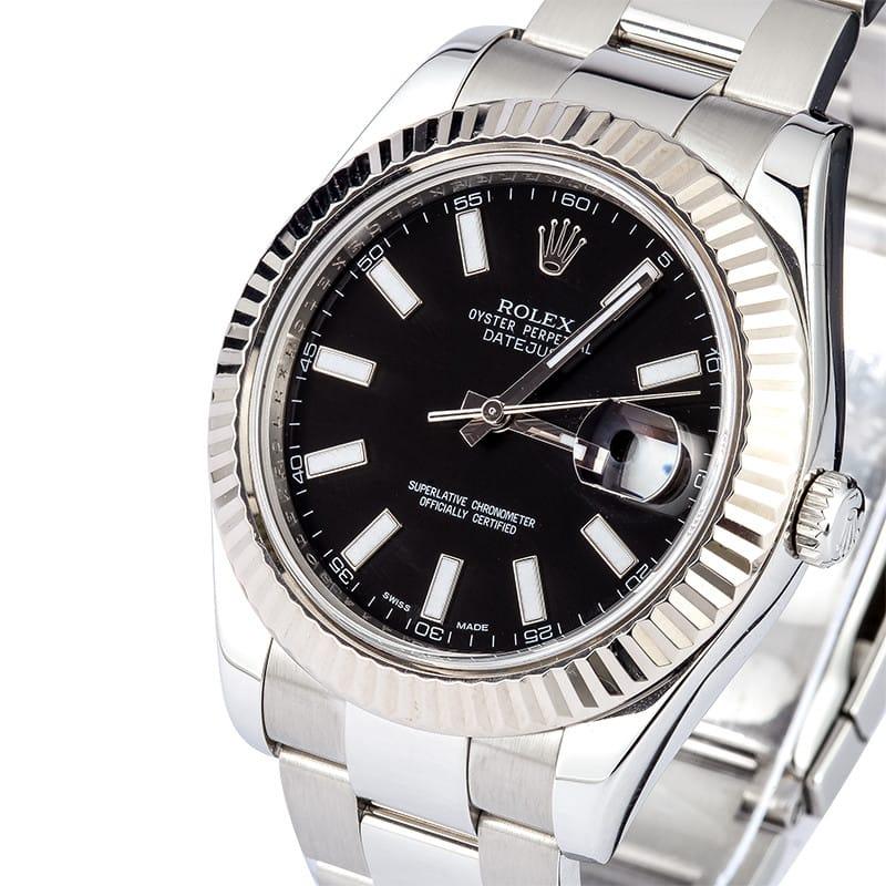 Rolex Datejust 2 Black Dial