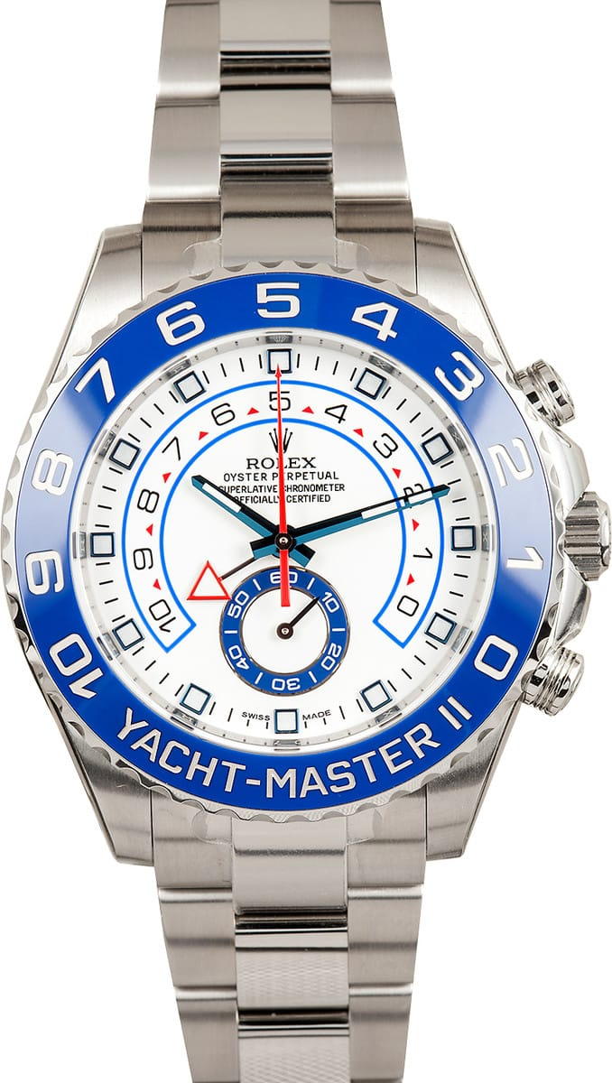 Certified Pre Owned >> Rolex Yachtmaster II Ref. 116680 at Bob's Watches