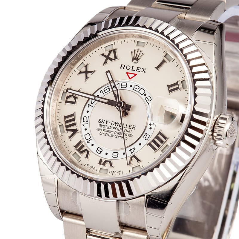 A Rolex Sky-Dweller 326939 is a watch that is highly complex.