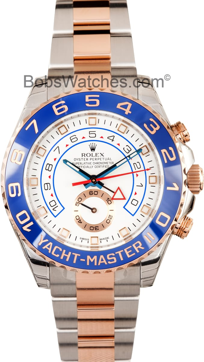 Rolex Yachtmaster Ii Rose Gold For Sale