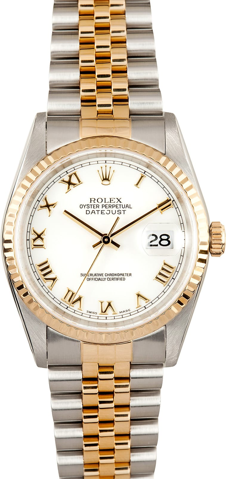 2babd716ba5 Pre Owned Men s Rolex Stainless and Gold DateJust - Save up to 50 ...