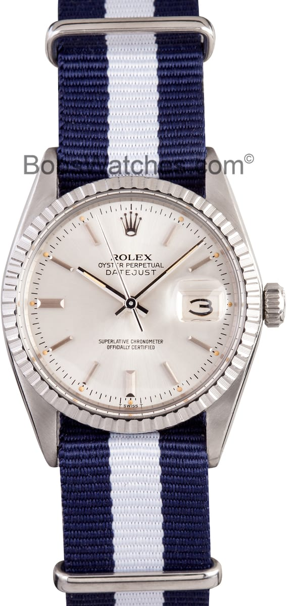 Certified Pre Owned >> Rolex DateJust - Save up to 50% on Authentic Rolex at Bobs