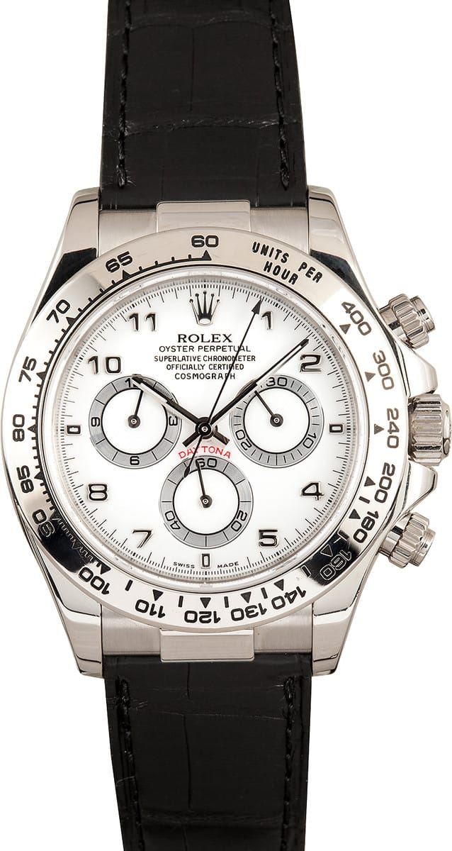 Used Rolex Daytona >> Rolex Daytona Leather - Buy 100% Rolex at Bob's and Save