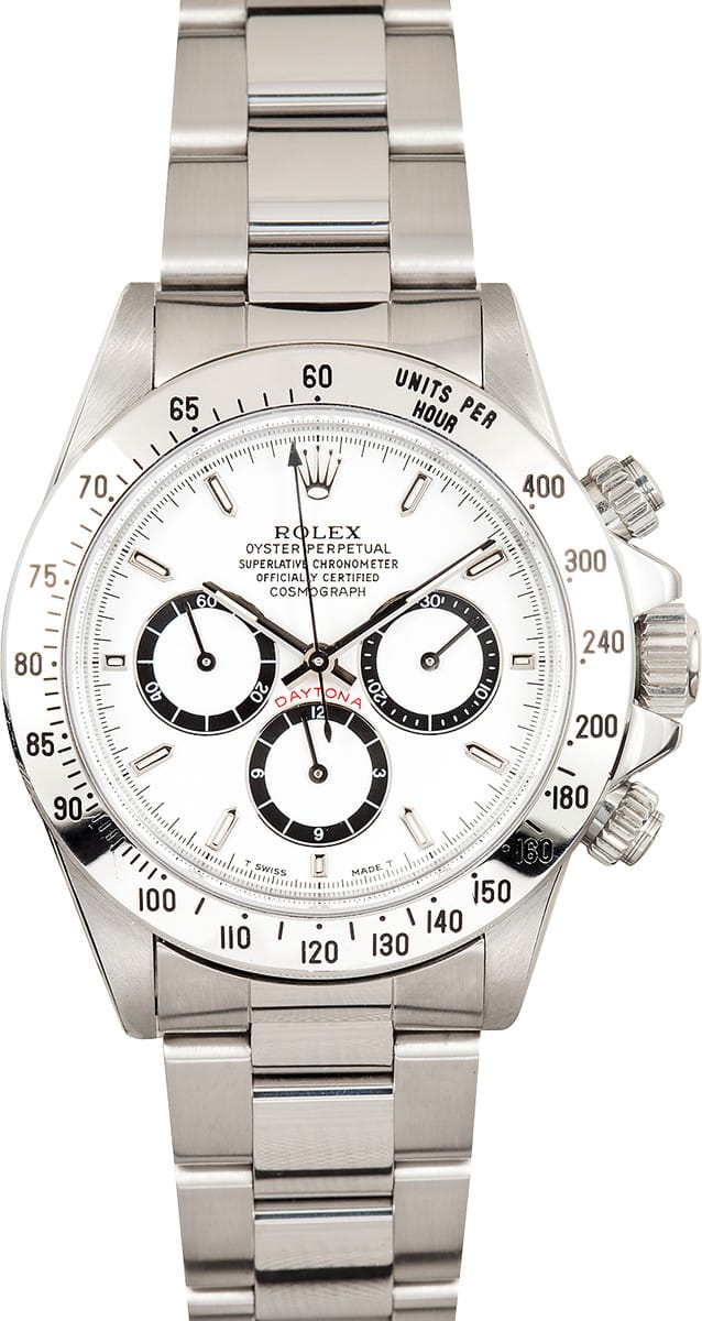 Rolex Daytona Stainless Steel 16520 Save At Bob S Watches