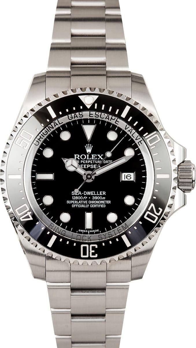 Used Rolex Submariner >> Rolex Sea Dweller Deep Sea 116660, Pre-Owned
