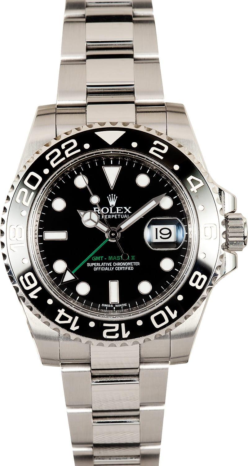 Rolex gmt master ii ceramic bezel 116710 bob 39 s watches for Rolex gmt master