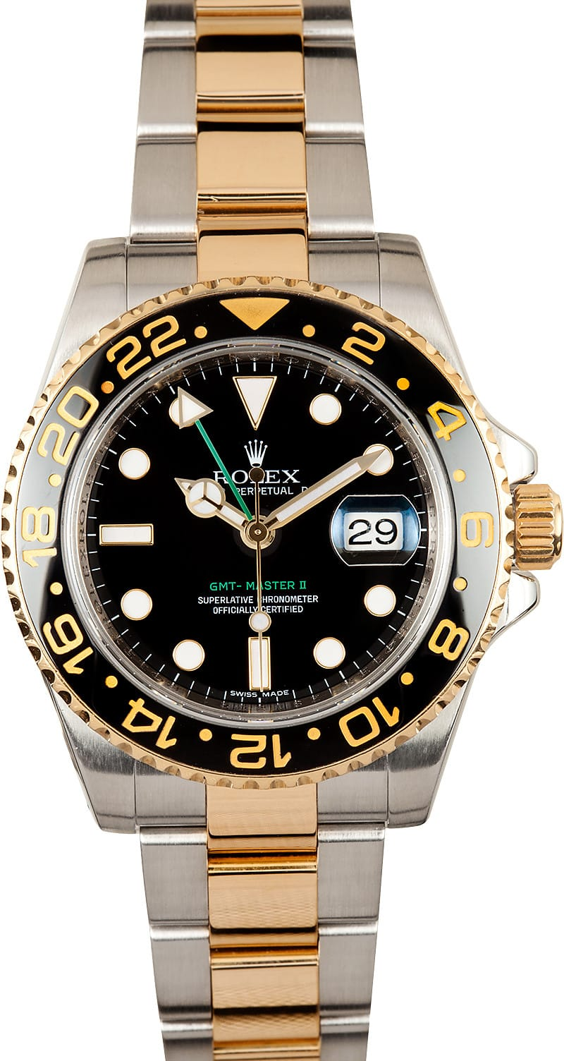 New model rolex gmt master ii 116713 ceramic master ii at bob 39 s watches for Rolex gmt master