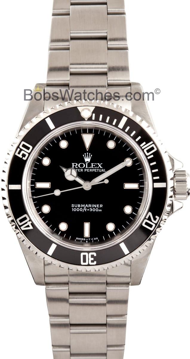 Rolex submariner stainless steel 14060