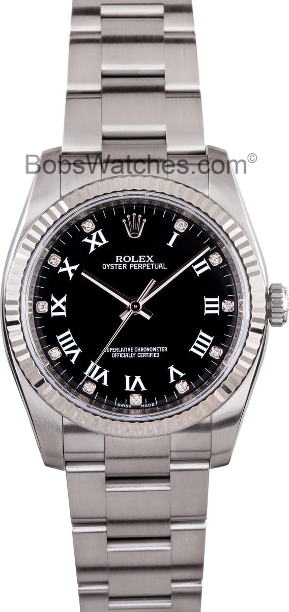 Certified Pre Owned >> Best Low Prices - Rolex Oyster Perpetual Watch Ref. 116034