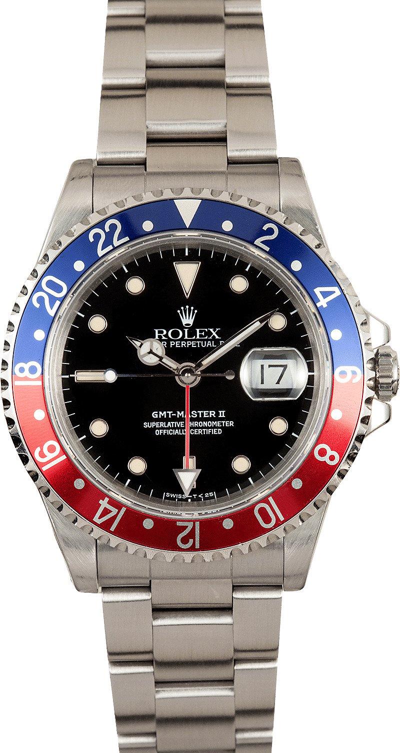 Pepsi Rolex GMT 16710