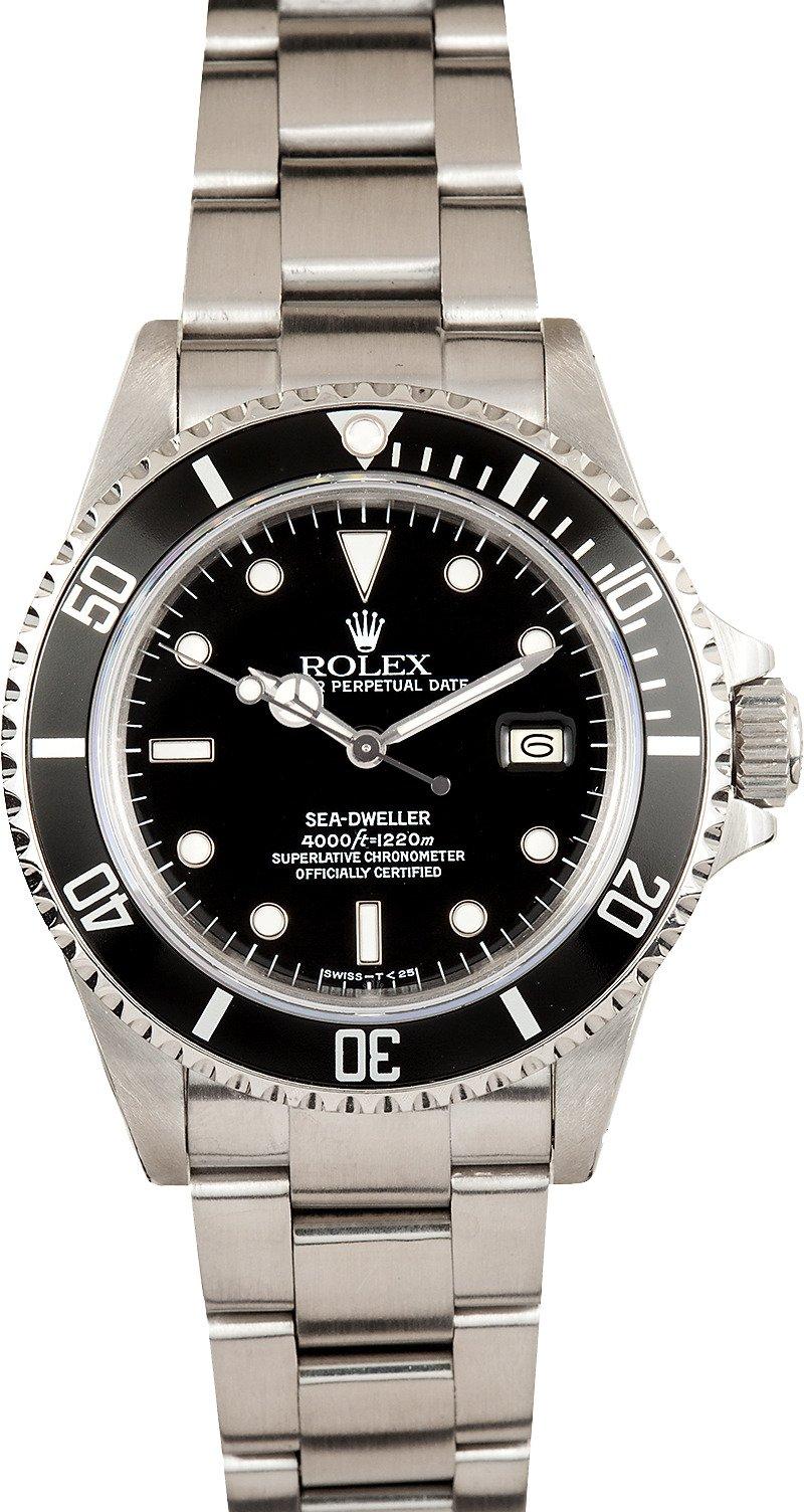 Used Rolex Daytona >> Rolex Sea-Dweller 16660 Black Dial - Ships Free, no Sales Tax