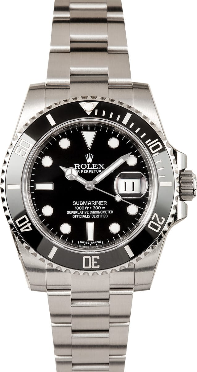 Certified Pre Owned >> Rolex Submariner 116610LN Watch