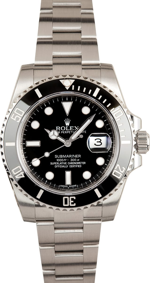 Used Breitling Watches >> Submariner Rolex Model 116610 Ceramic Stainless - Save At Bob's Watches