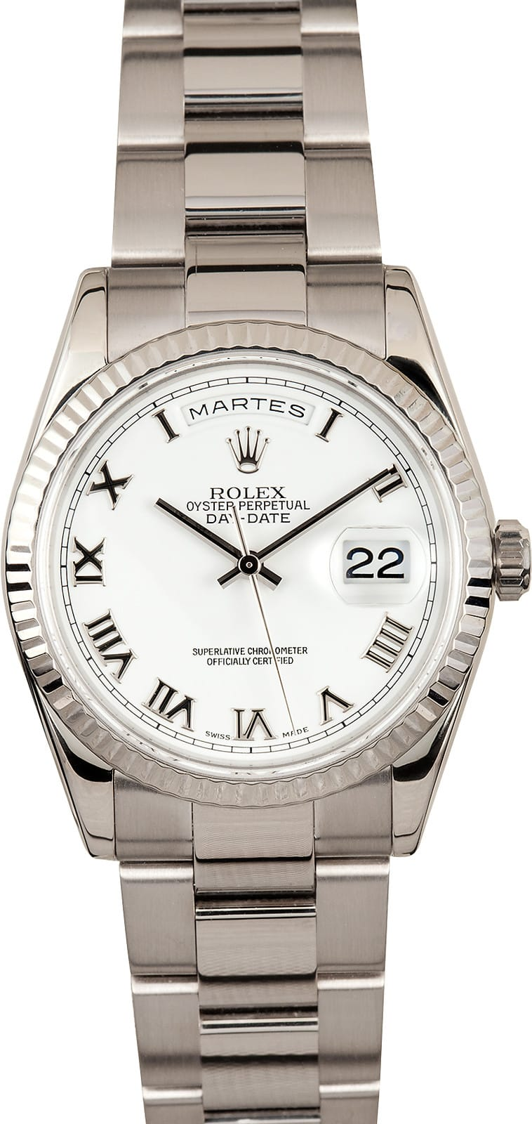 rolex president day date watches at bob s the pre owned rolex exchange mens rolex president 118239
