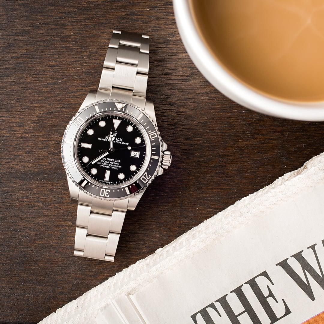 Rolex sea dweller 116600 ceramic 40mm for Rolex sea wweller