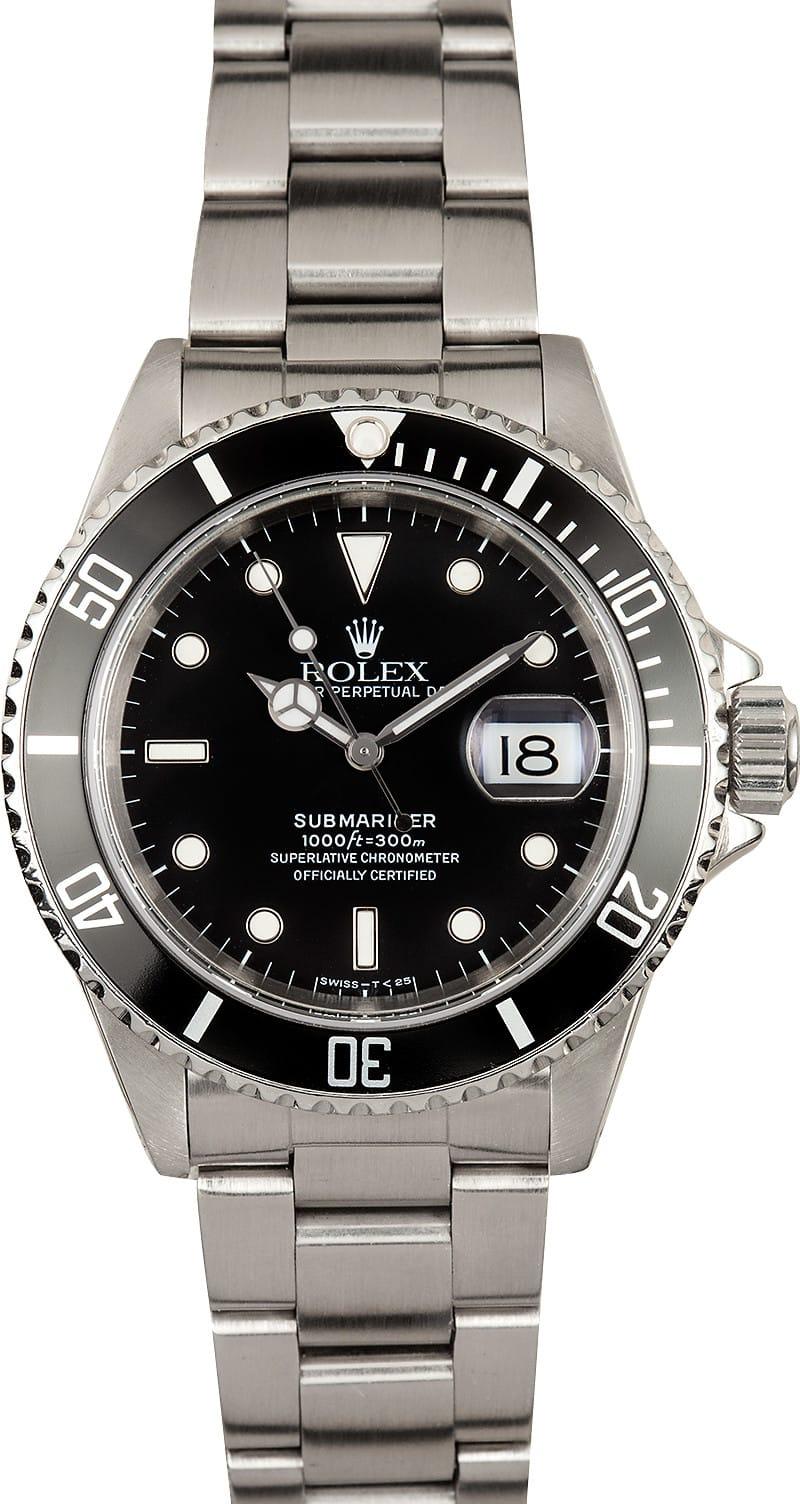 Rolex Submariner 16610 Used