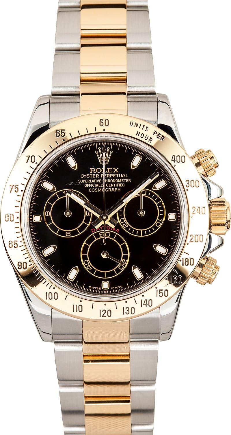 Rolex Daytona For Sale >> Rolex Daytona Black Dial 116523 for Sale at Bob's Watches