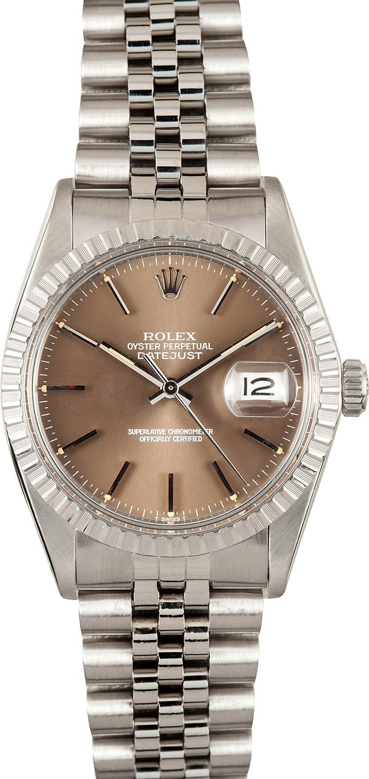 Used Rolex Daytona >> Mens Rolex Datejust 16030 Bronze Dial - Buy Rolex at Bob's Watches