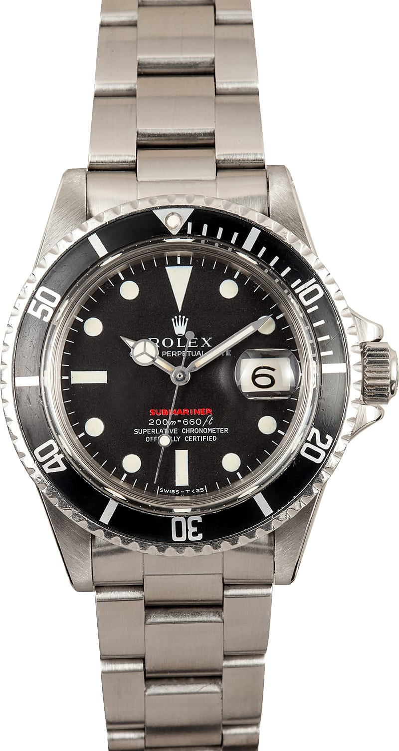 Bell And Ross Watch >> Vintage Rolex Red Submariner - Save up to 50% on Rolex