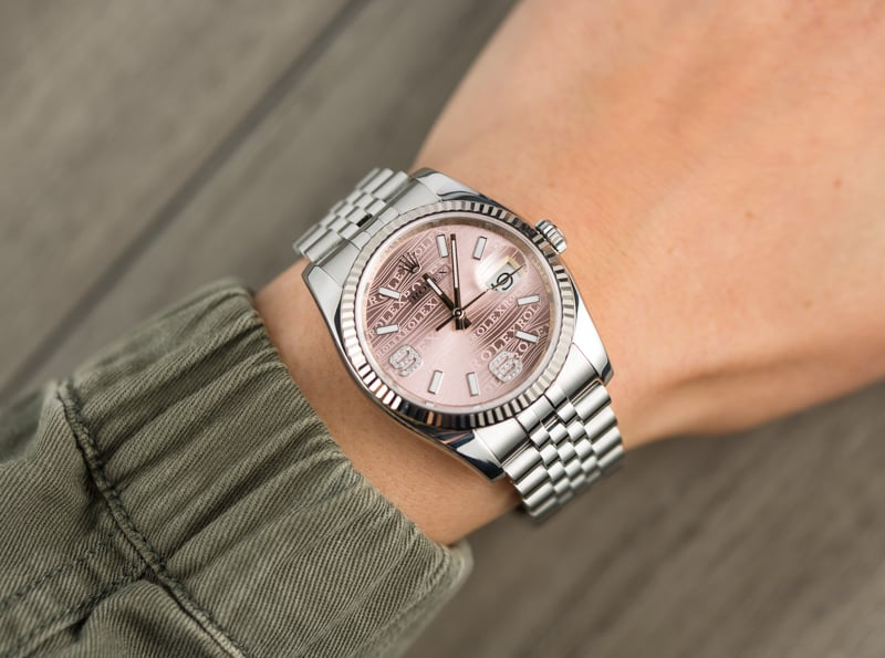 Pink Diamond Rolex