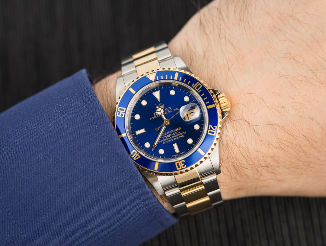 Rolex Submariner 16613 Steel and Gold