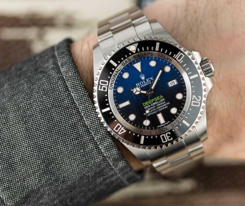 a26b2b9ec00 Rolex Sea-Dweller Deepsea Blue 116660 Certified Pre-Owned