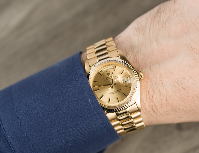 Rolex Presidential Day Date 1803 Champagne Dial