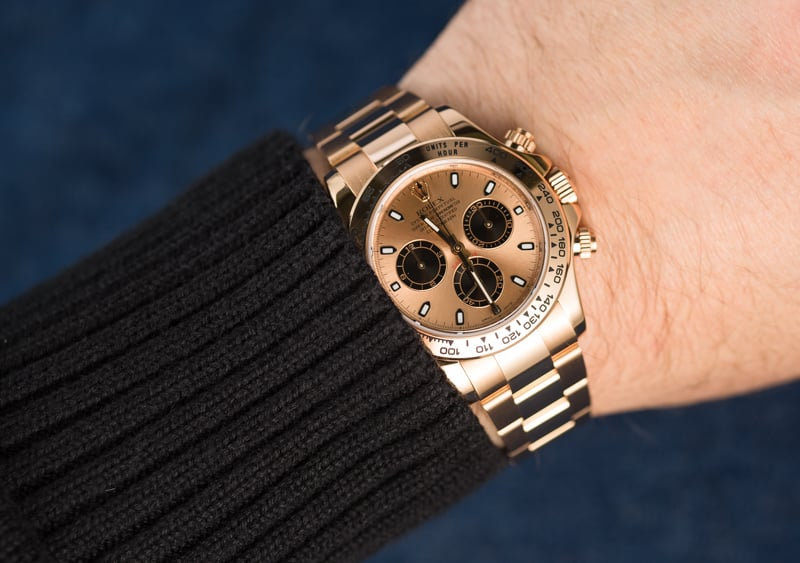 Rolex Daytona 116505 Rose Gold