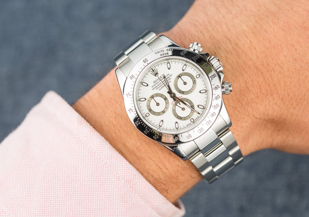 Rolex Daytona White Dial 116520 Stainless