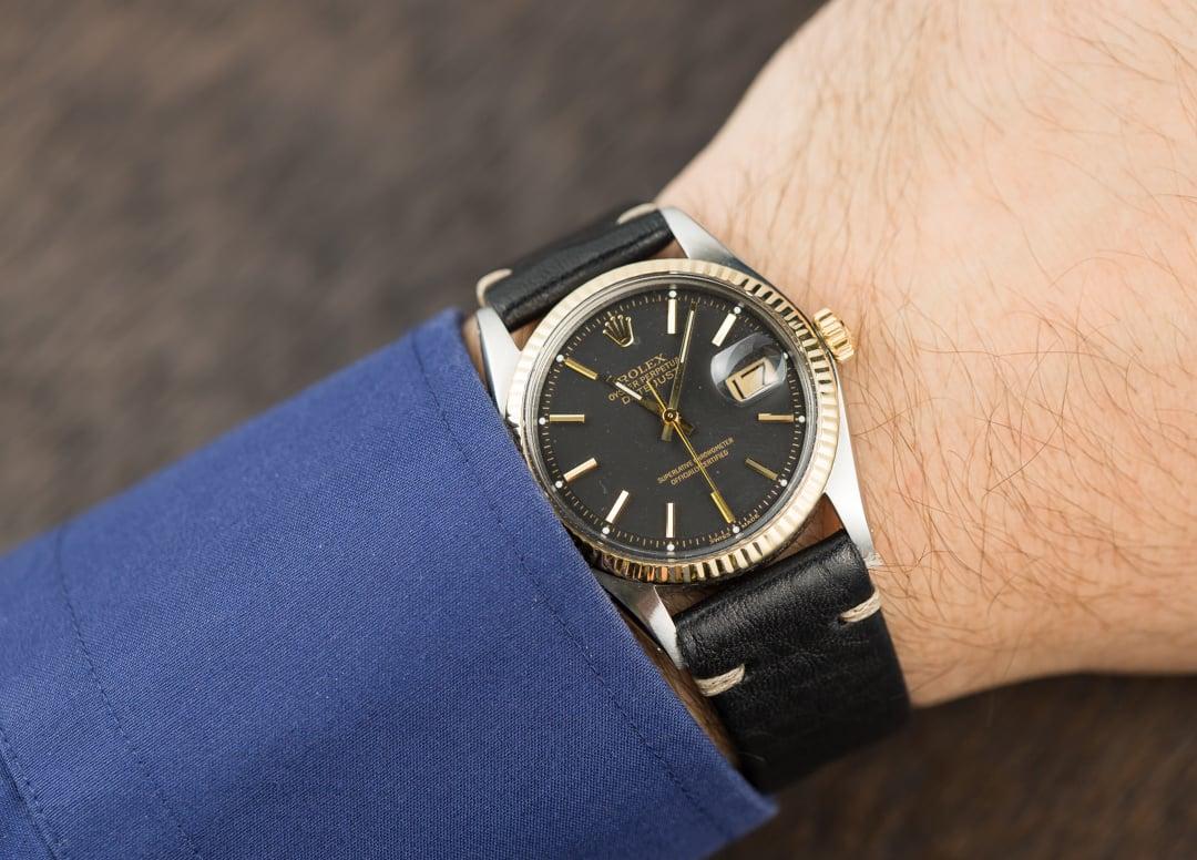 Rolex Vintage Datejust 1601 Black