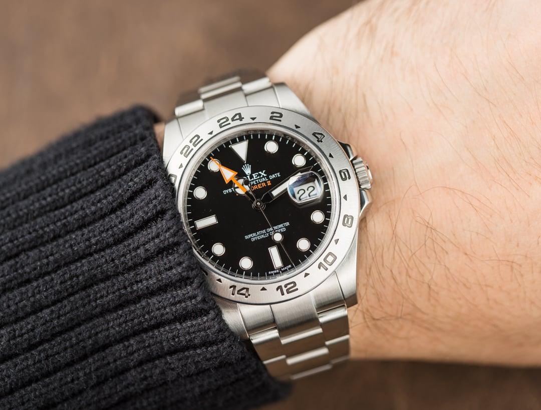 Rolex explorer 2 black 216570 for Rolex explorer