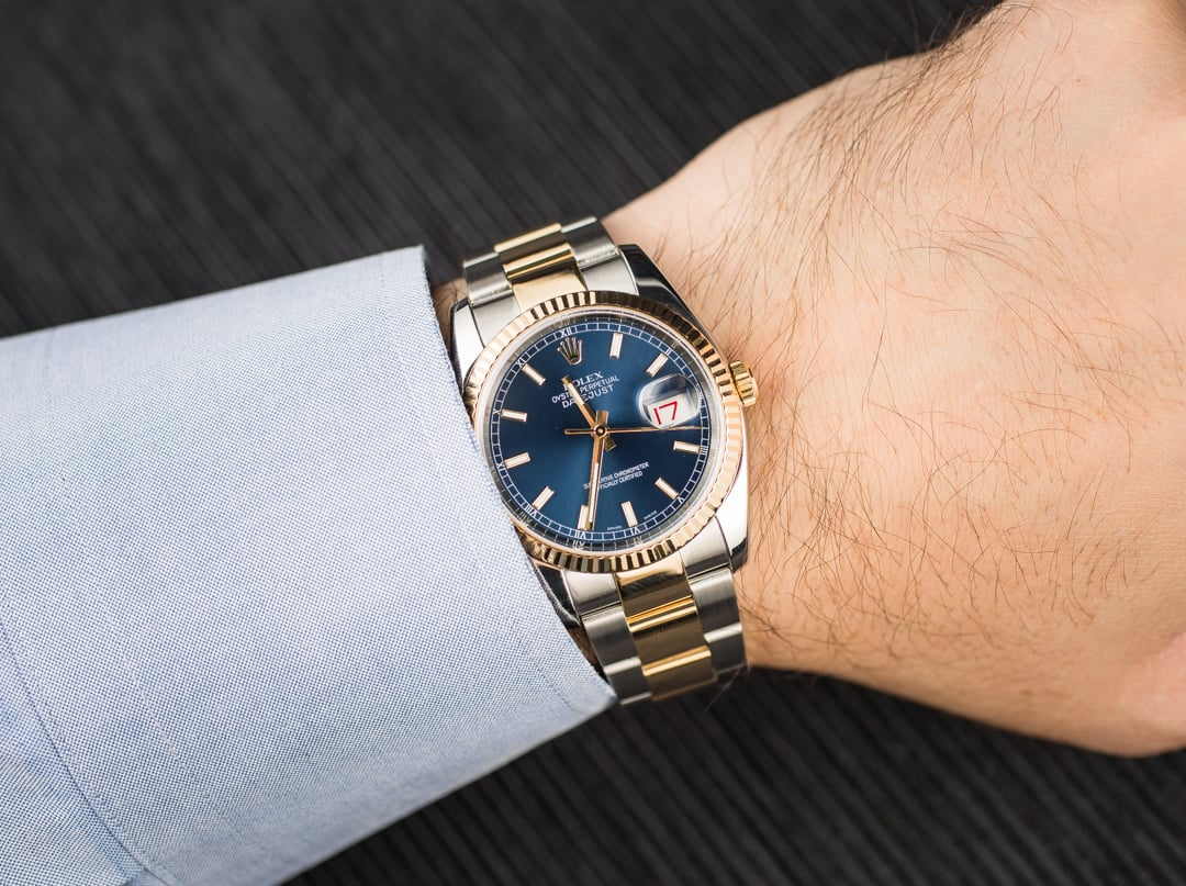 Rolex Men's 36mm Datejust 116233Rolex Datejust 36mm On Wrist