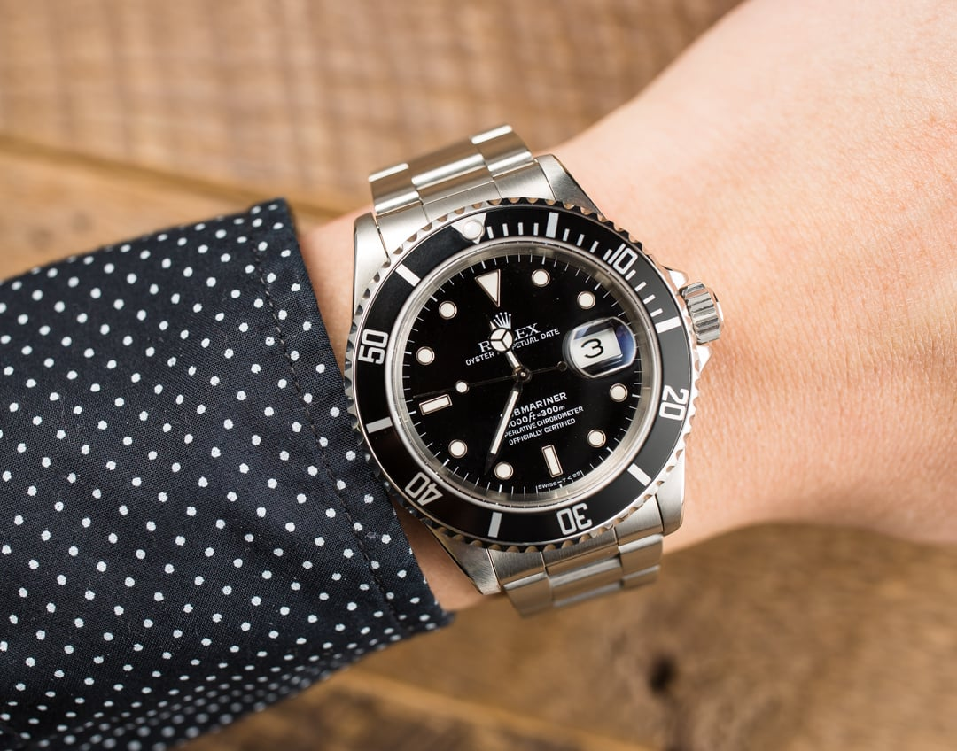 rolex submariner black on wrist cmdmarketingcouk