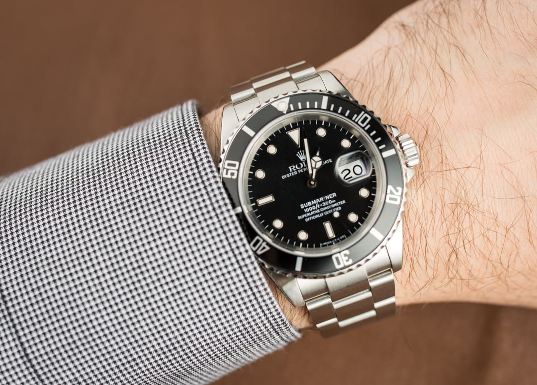Rolex Submariner Stainless 16610 Oyster Band