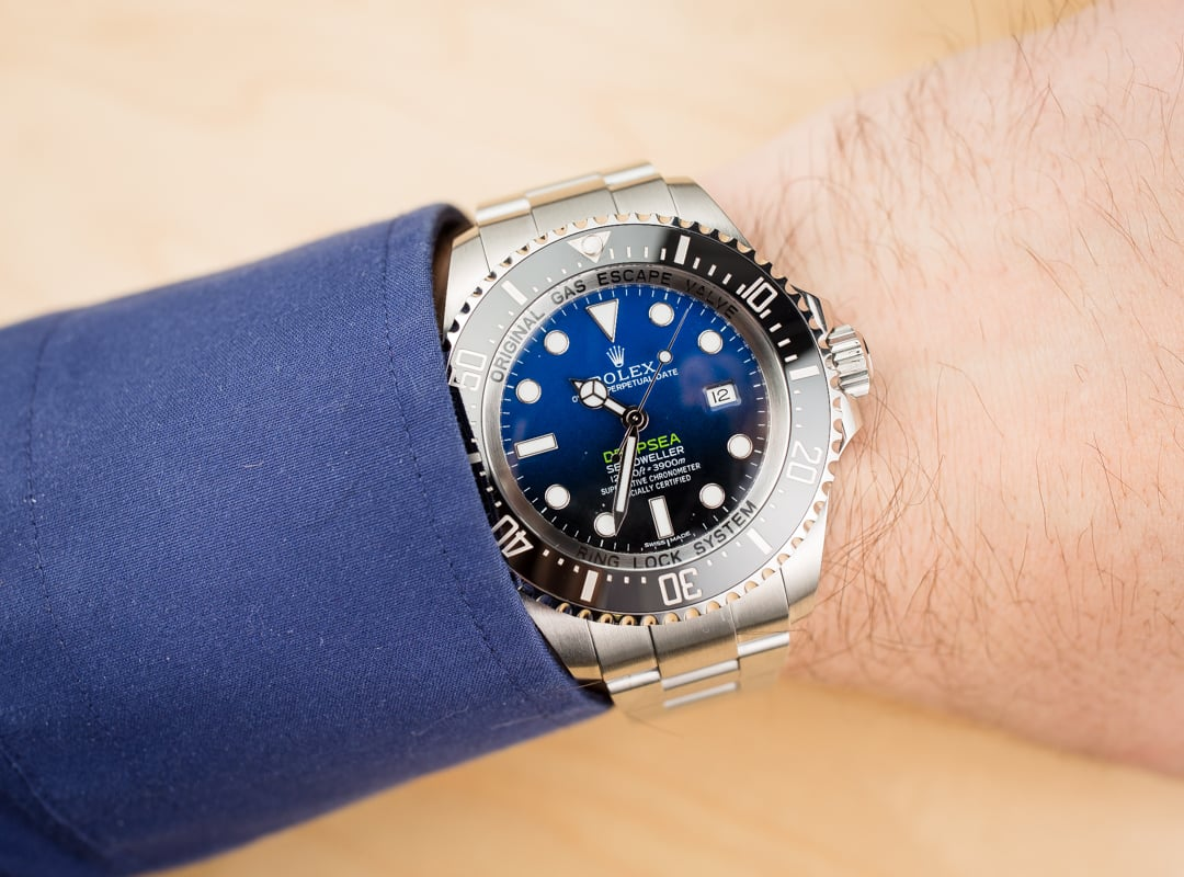 James cameron rolex sea dweller deepsea 116660 for Rolex sea wweller