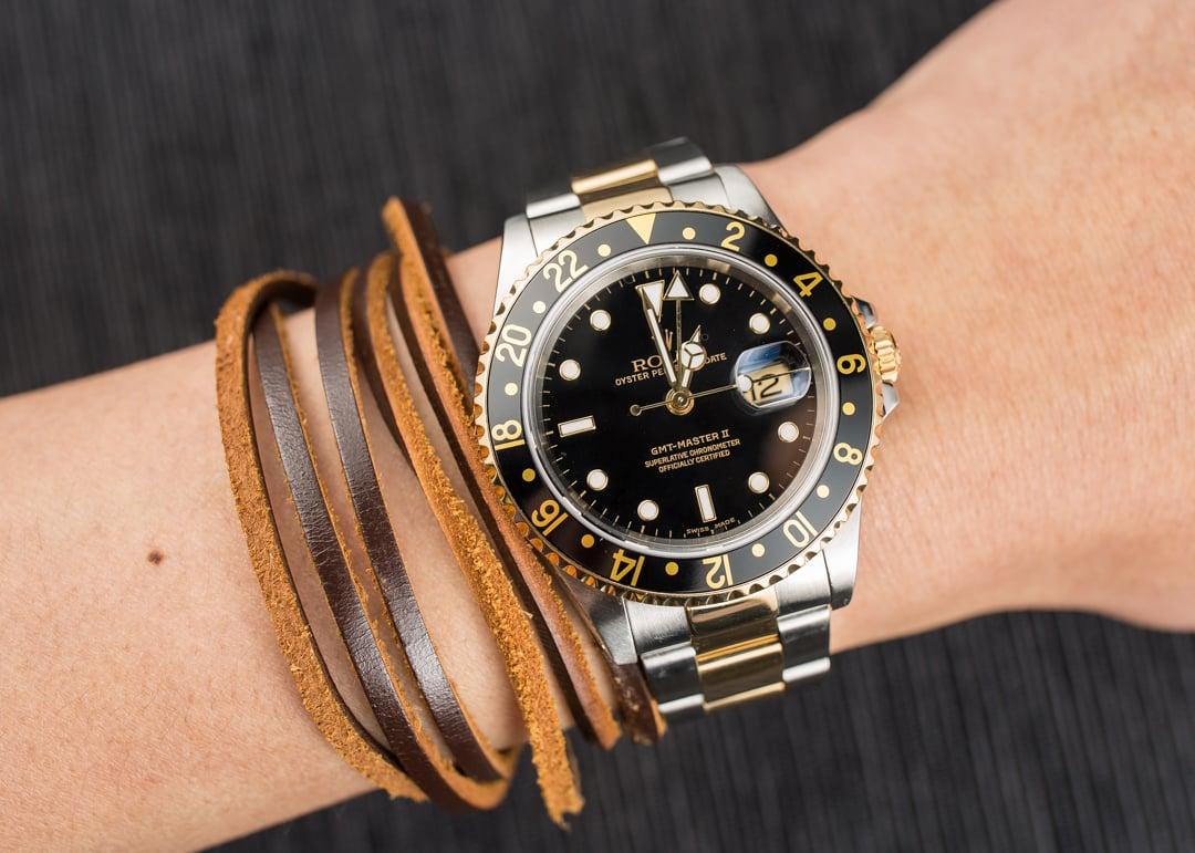GMT: Rolex GMT Master II 16713 Black