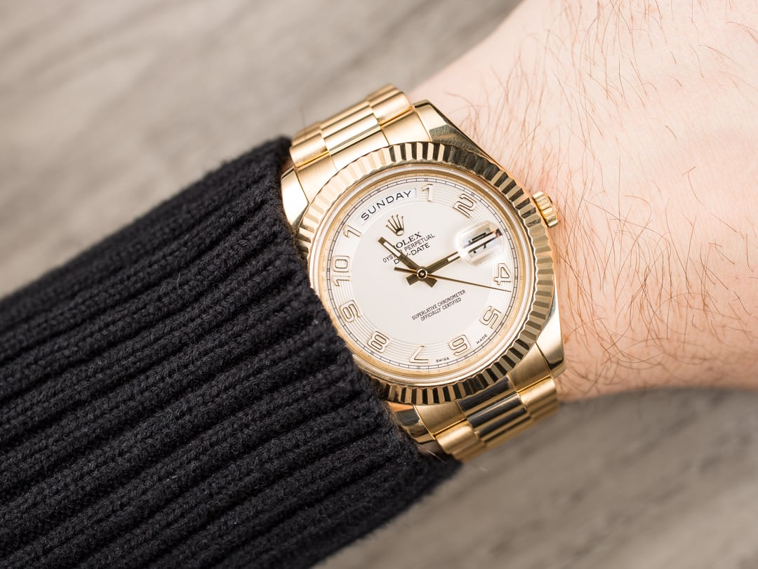 Rolex Day-Date 218238 Gold 41MM