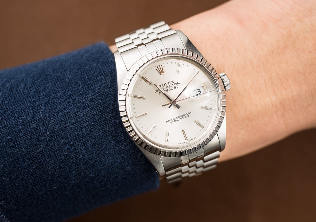 Rolex datejust 36mm 16030 steel jubilee for Rolex date just 36