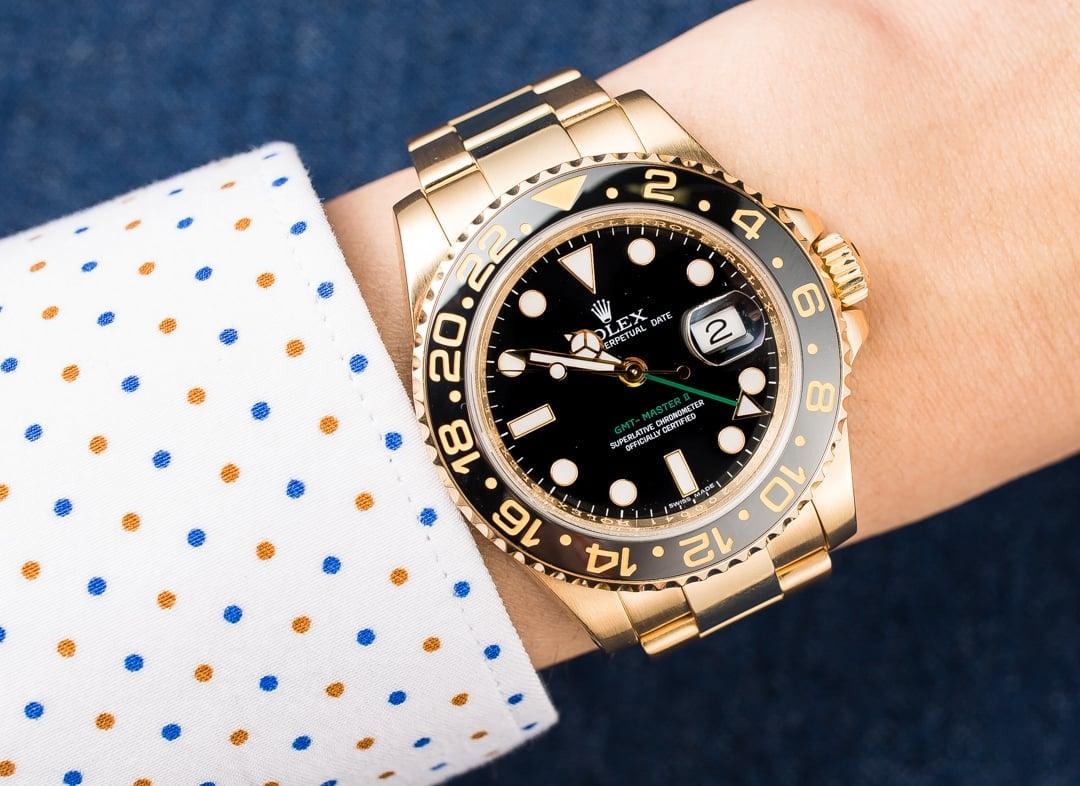GMT: Rolex GMT-Master II 116718 Gold