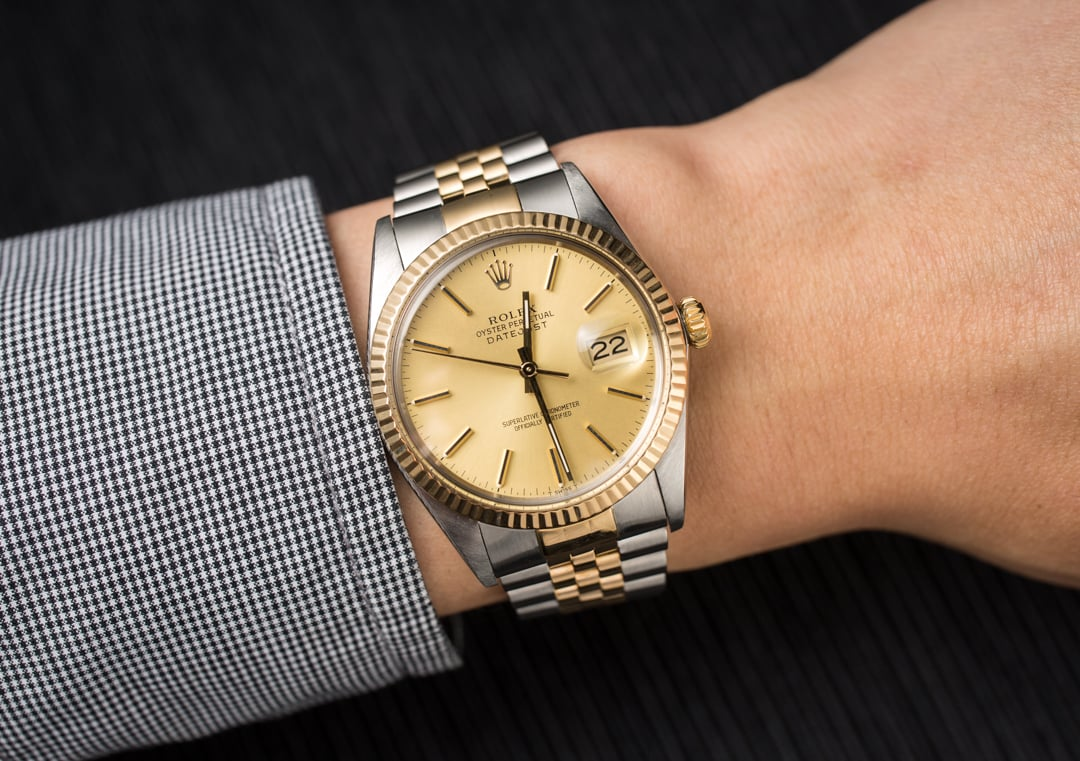 Rolex datejust 36 16013 men 39 s for Rolex date just 36