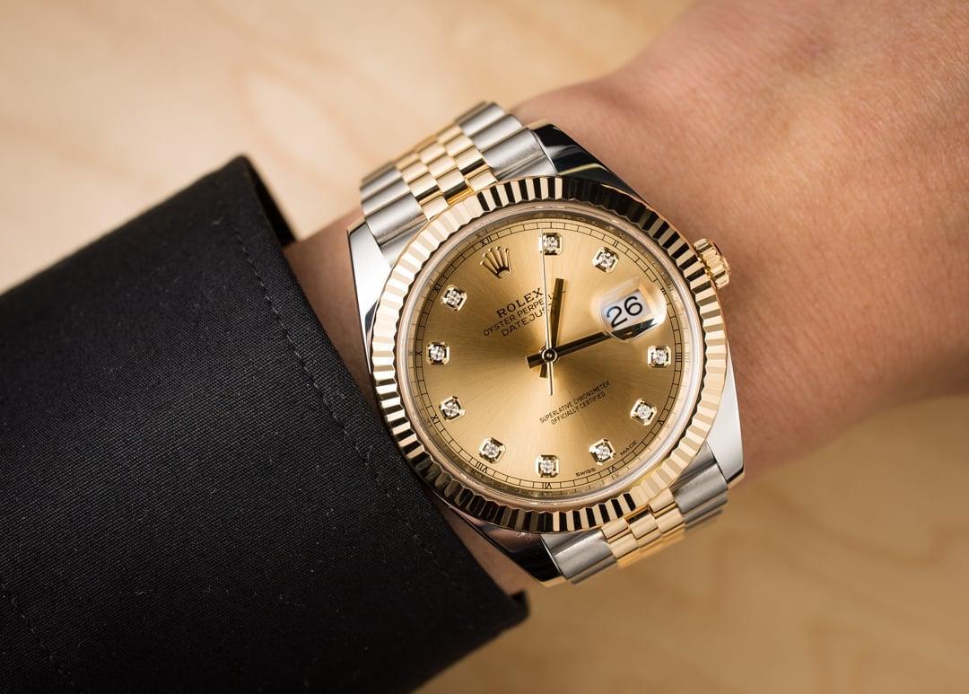 Rolex Datejust 41 Diamond 126333